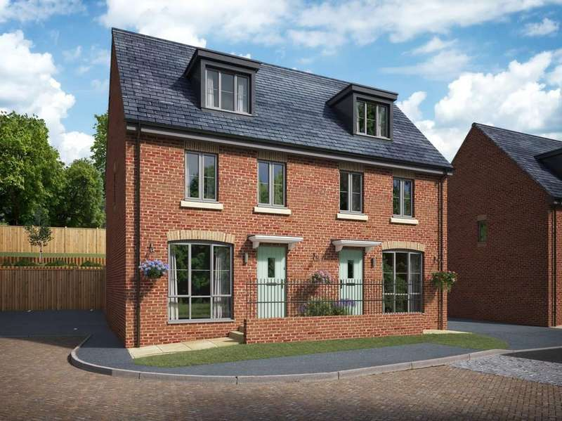 3 Bedrooms Semi Detached House for sale in Bowbridge Wharf, Stroud