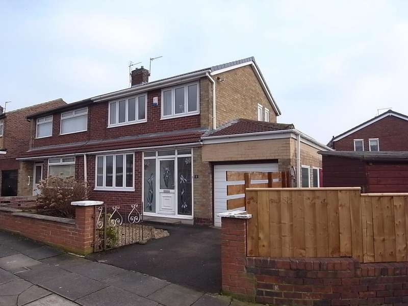 3 Bedrooms Semi Detached House for rent in Mortimer Drive, Norton, TS20