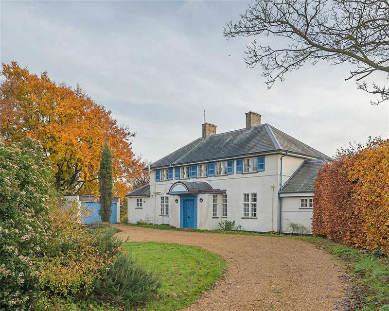 4 Bedrooms Detached House for sale in Bridle Way, Grantchester, Cambridge, CB3