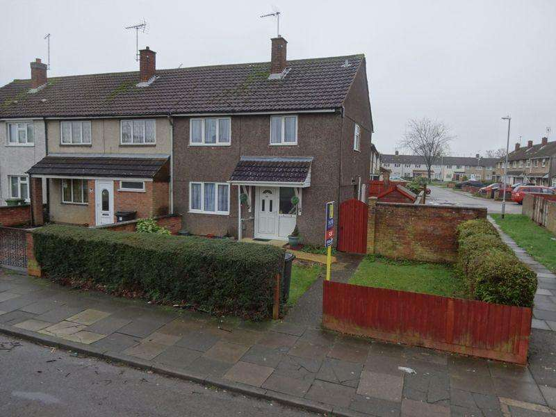 3 Bedrooms Terraced House for sale in Beanfield Avenue, Corby