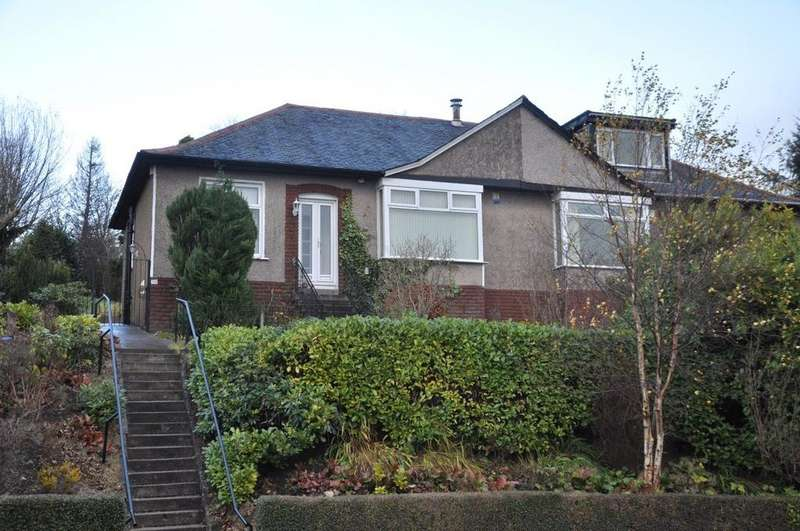 3 Bedrooms Semi Detached Bungalow for sale in Merrylee Park Avenue, Giffnock, Glasgow, G46