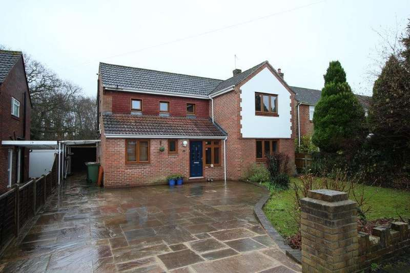 4 Bedrooms Detached House for sale in Portelet Place, Hedge End SO30