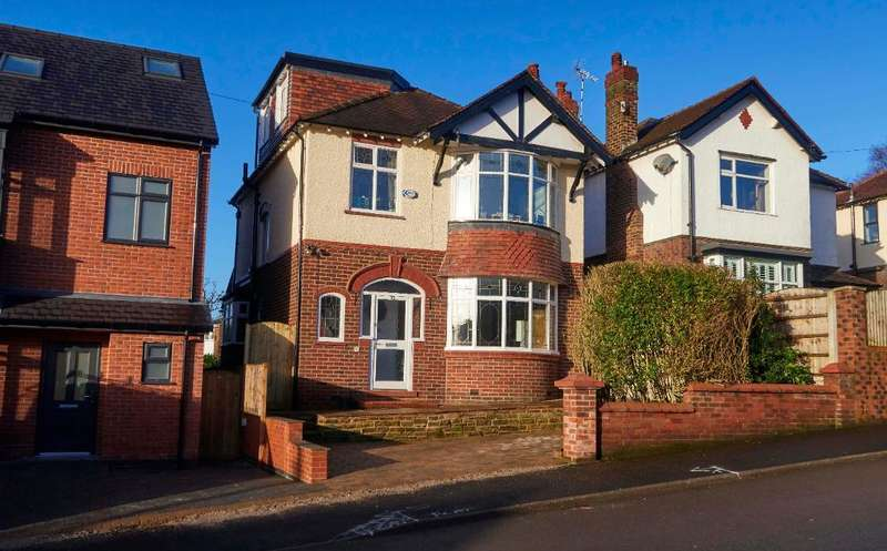 4 Bedrooms Detached House for sale in Guywood Lane, Romiley, Stockport, SK6 4AW