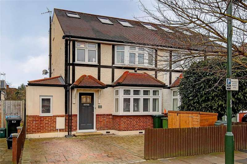 4 Bedrooms Semi Detached House for sale in Chudleigh Road, Twickenham, TW2
