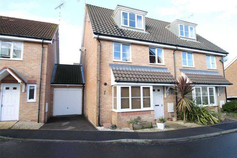 3 Bedrooms Semi Detached House for sale in Gratwicke Drive, Littlehampton, West Sussex, BN17