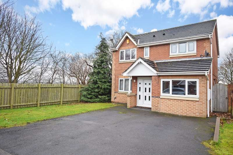 3 Bedrooms Detached House for sale in St James Rise, Lupset, Wakefield