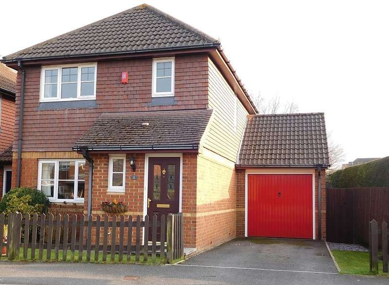 3 Bedrooms Link Detached House for sale in Parish Close, Ash, Aldershot, Surrey, GU12
