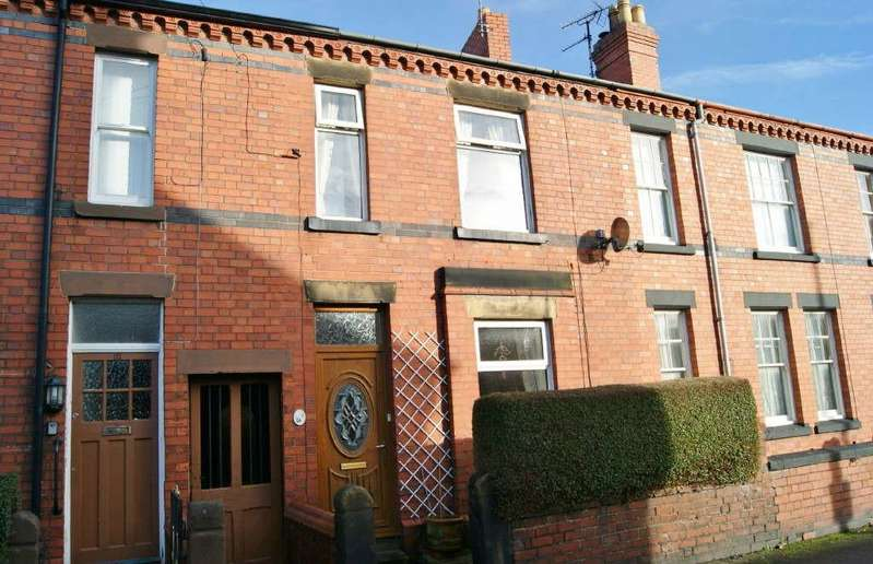 2 Bedrooms Terraced House for sale in Earle Street, Wrexham