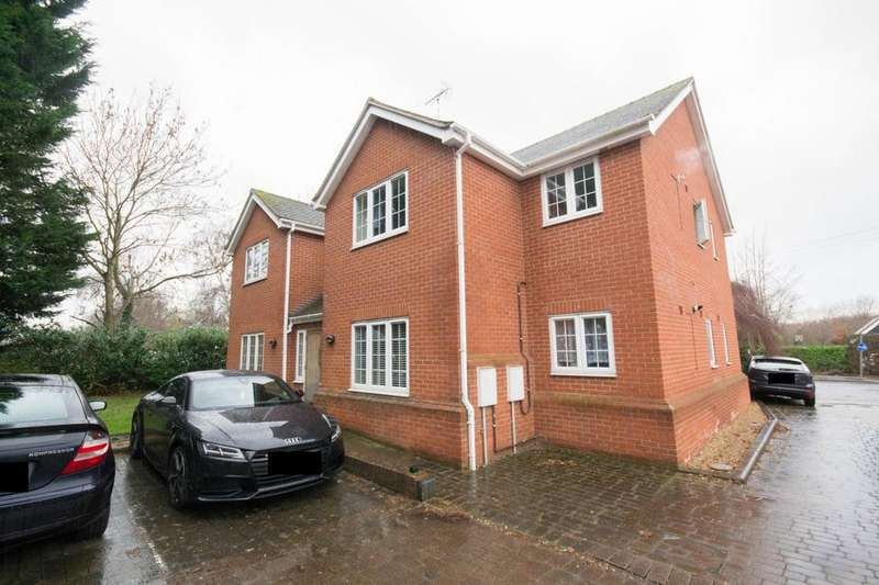 2 Bedrooms Ground Flat for sale in Chelmsford Road, Shenfield, Brentwood, Essex, CM15