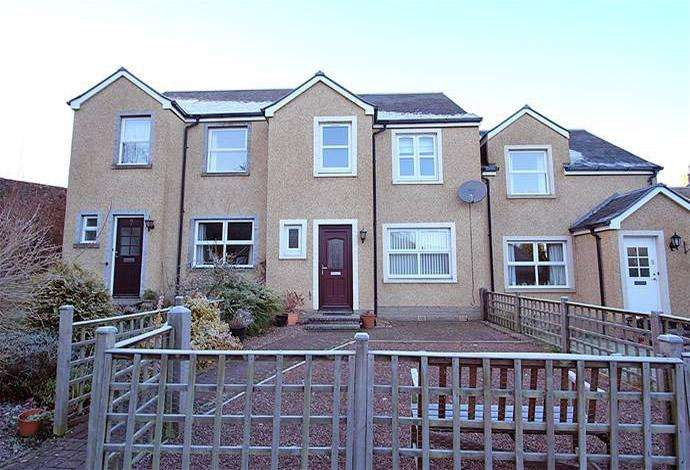 3 Bedrooms Terraced House for sale in 6 Galloway Court, Darnick, TD6 9BF