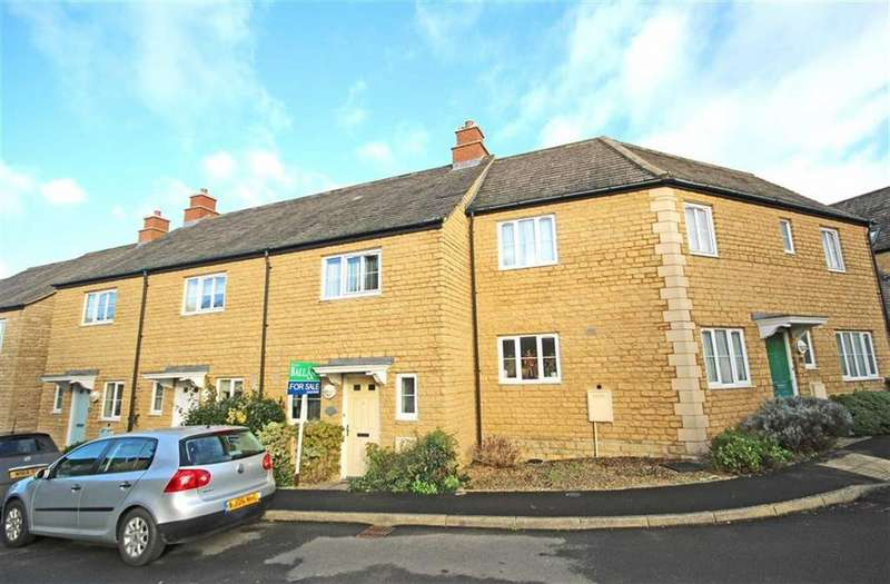 2 Bedrooms Terraced House for sale in Knapps Crescent, Woodmancote, Cheltenham, GL52