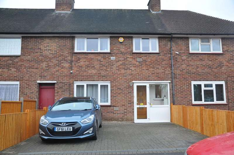 3 Bedrooms Terraced House for sale in Sparrow Farm Drive, Feltham