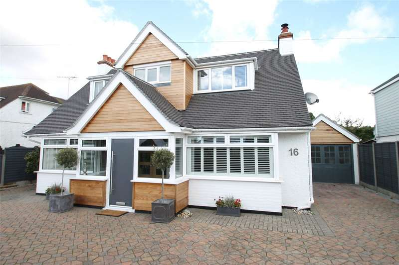 4 Bedrooms Detached Bungalow for sale in Broadmark Avenue, Rustington, West Sussex, BN16