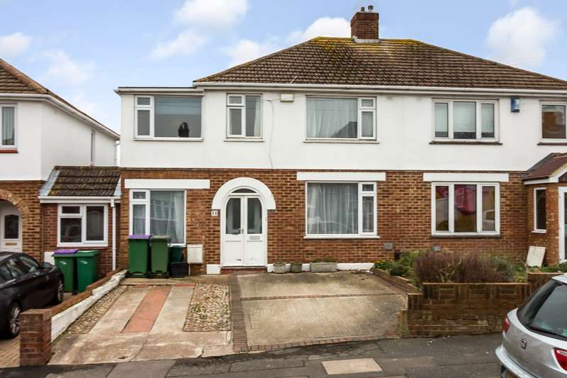 4 Bedrooms Semi Detached House for sale in Warren Way, Folkestone CT19