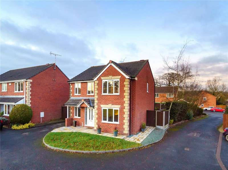 4 Bedrooms Detached House for sale in Baker Close, Ludlow, Shropshire