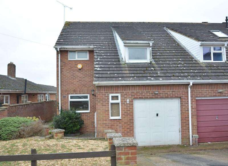 3 Bedrooms Semi Detached House for sale in Dell Road, Andover