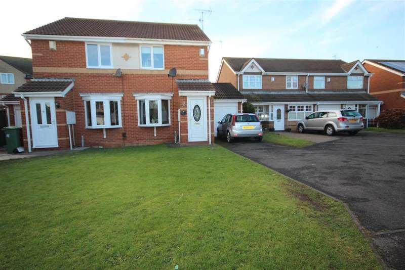 2 Bedrooms Semi Detached House for sale in Telford Close, Hartlepool