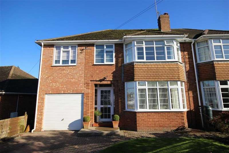 5 Bedrooms Semi Detached House for sale in Pickering Road, Leckhampton, Cheltenham, GL53