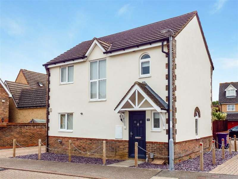 3 Bedrooms Detached House for sale in Lomond Way, Stevenage, Hertfordshire, SG1