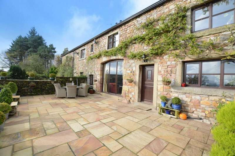 4 Bedrooms Semi Detached House for sale in Burn House Cottages, Back Lane, Newton In Bowland, Lancashire, BB7