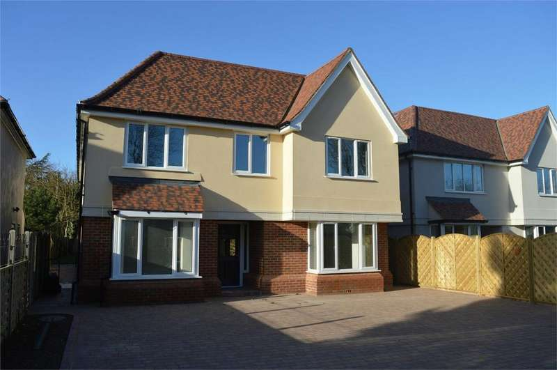 5 Bedrooms Detached House for sale in Langleys, Latchmore Bank, Little Hallingbury, Nr Bishop's Stortford