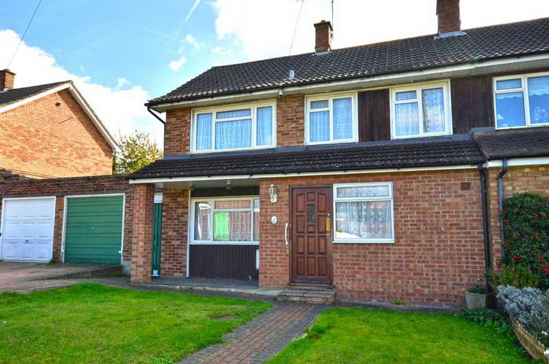 3 Bedrooms Semi Detached House for sale in Mallard Way, Watford, Hertfordshire, WD25
