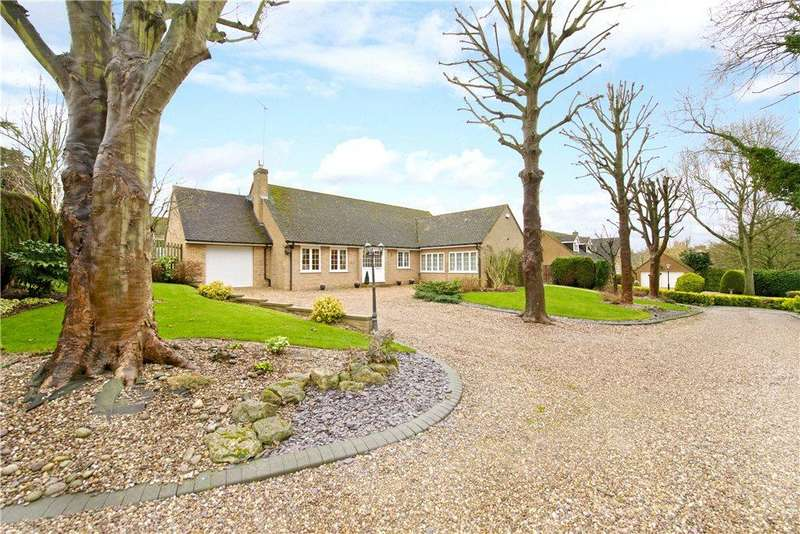 4 Bedrooms Detached Bungalow for sale in The Green, Cranford, Northamptonshire