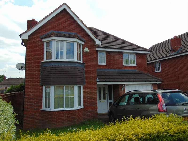 4 Bedrooms Detached House for sale in Brindle Road, Walsall
