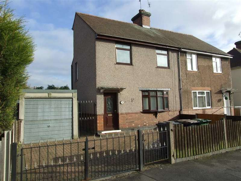 3 Bedrooms Semi Detached House for sale in Hanbury Road, Bedworth