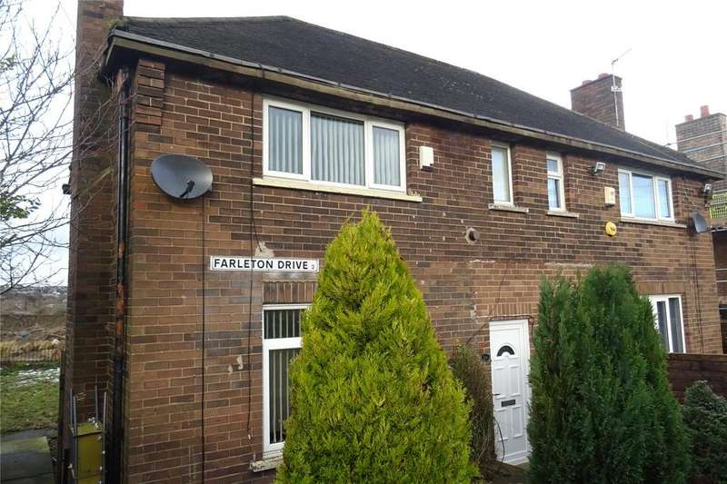 2 Bedrooms Semi Detached House for sale in Farleton Drive, Bradford, West Yorkshire, BD2