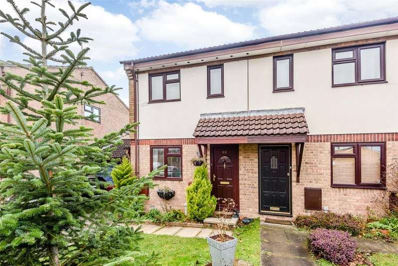 3 Bedrooms Semi Detached House for sale in Mozart Close, Basingstoke, Hampshire, RG22