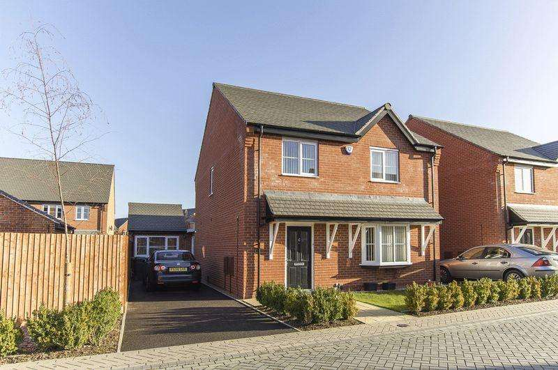 4 Bedrooms Detached House for sale in STURSTON CLOSE, STENSON FIELDS