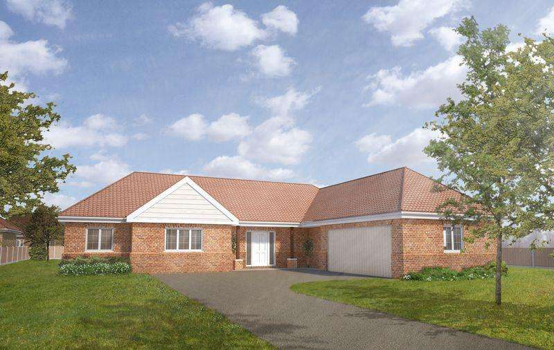 3 Bedrooms Bungalow for sale in Plot 9, The Hawthorn, Tower Drive, Woodhall Spa