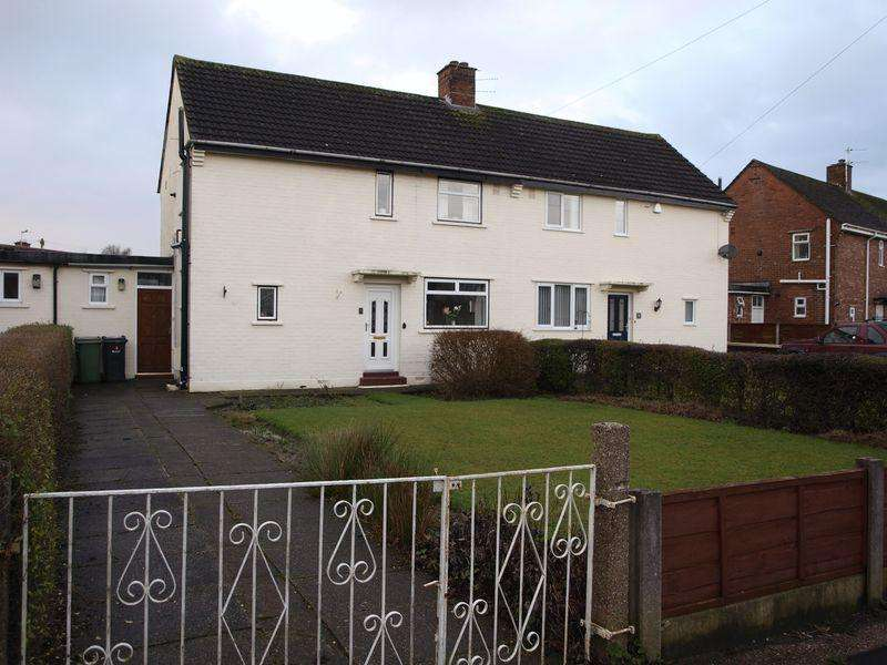 3 Bedrooms Semi Detached House for sale in Fryer Road, Lostock Gralam, CW9 7QF