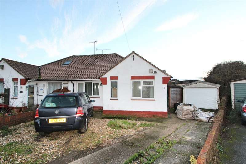 3 Bedrooms Semi Detached Bungalow for sale in Muirfield Close, Worthing, West Sussex, BN13