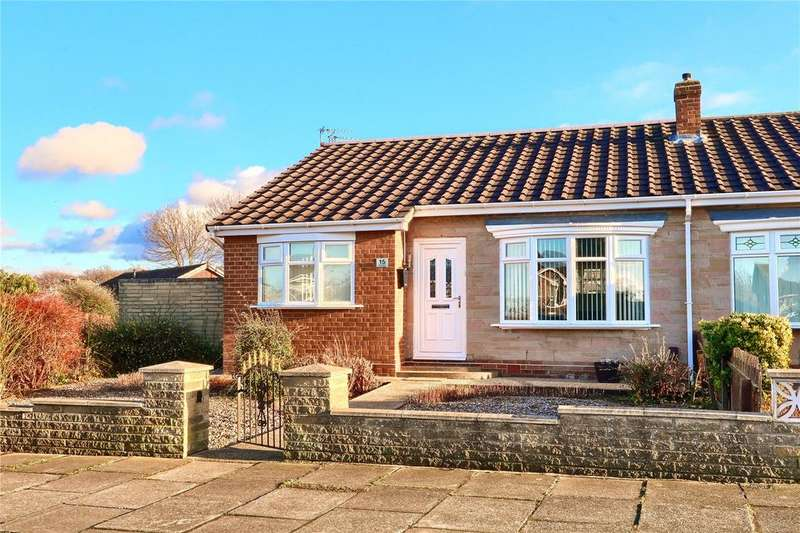 3 Bedrooms Semi Detached Bungalow for sale in The Derby, Marton Manor