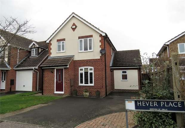 4 Bedrooms Detached House for sale in Hever Place, SITTINGBOURNE, Kent