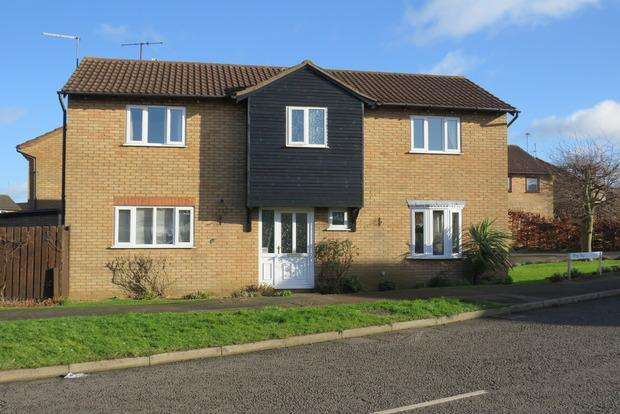 4 Bedrooms Detached House for sale in Wrenbury Road, Duston, Northampton, NN5