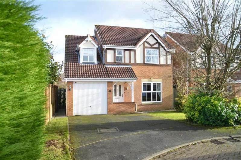 4 Bedrooms Detached House for sale in Barry Close, Stanney Oaks, CH65