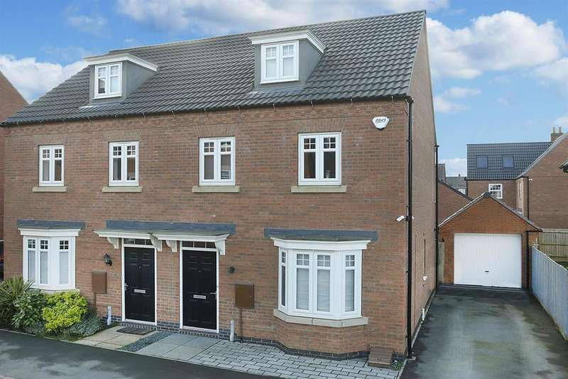 3 Bedrooms Semi Detached House for sale in Limner Street, Market Harborough