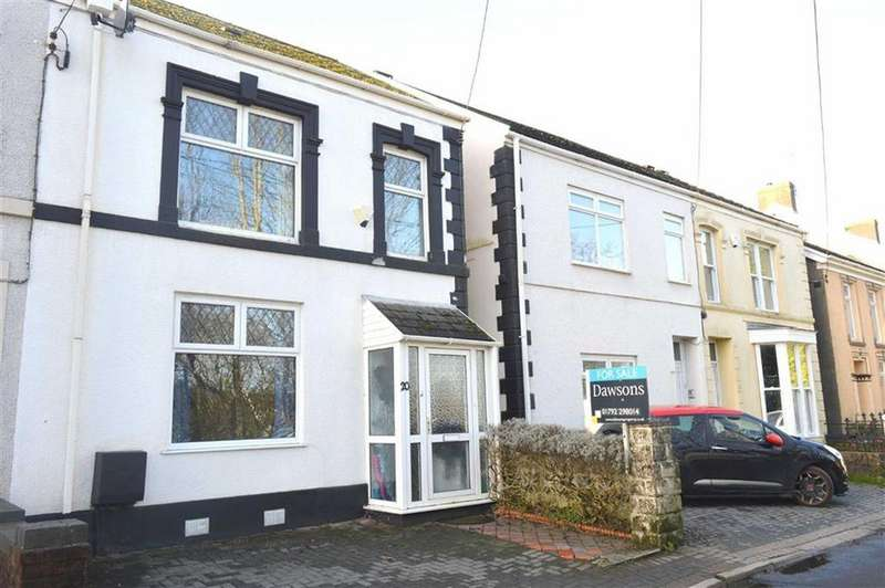 3 Bedrooms Semi Detached House for sale in Woodlands, Gowerton, Swansea