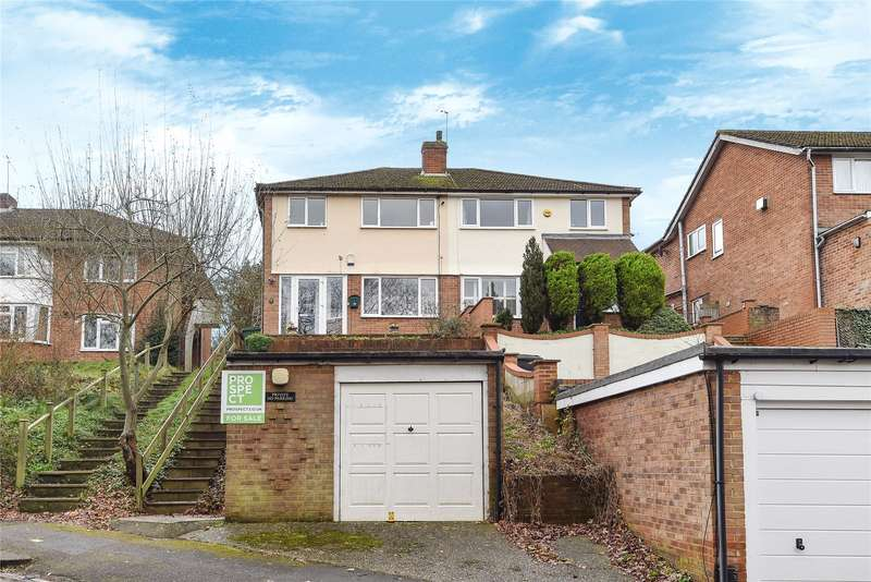 3 Bedrooms Semi Detached House for sale in Taff Way, Tilehurst, Reading, Berkshire, RG30