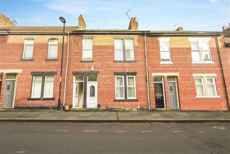 2 Bedrooms Flat for sale in Elsdon Terrace, North Shields, Tyne And Wear