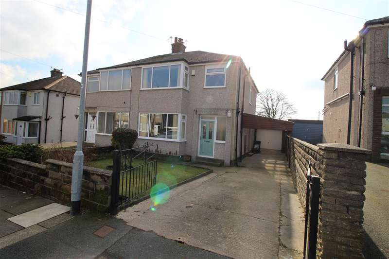 3 Bedrooms Semi Detached House for sale in Illingworth Drive, Illingworth, Halifax