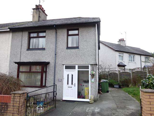 3 Bedrooms Semi Detached House for sale in PENCHWINTAN ROAD, BANGOR LL57