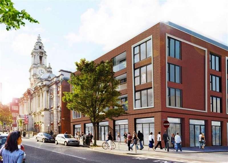 2 Bedrooms Flat for sale in Wellington Street, Woolwich, London, SE18