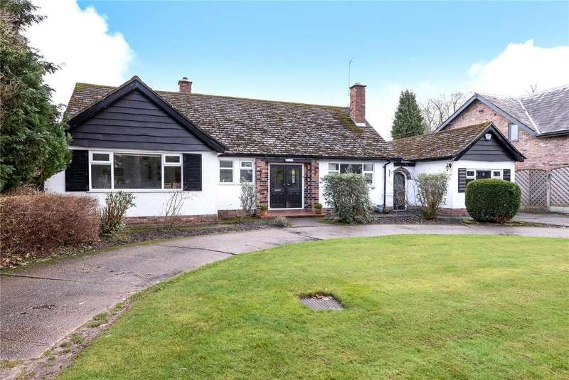 4 Bedrooms Detached Bungalow for sale in Overhill Road, Wilmslow, Cheshire, SK9