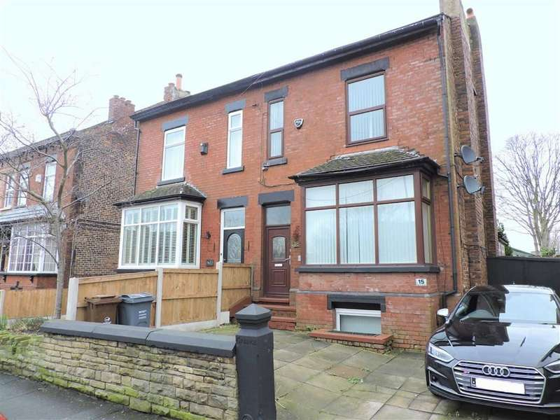4 Bedrooms Semi Detached House for sale in Cringle Road, Manchester, Greater Manchester