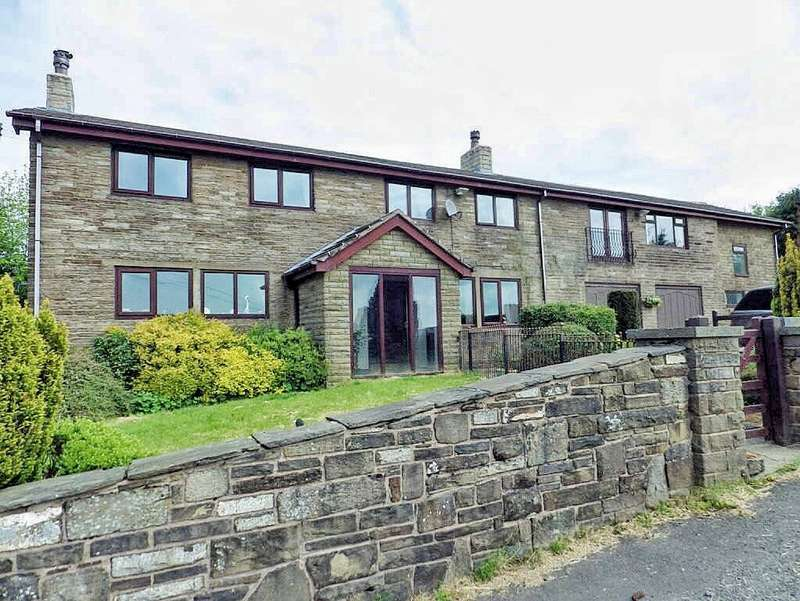 4 Bedrooms Detached House for sale in Off Market Street, Shawforth, Rochdale, Lancashire, OL12