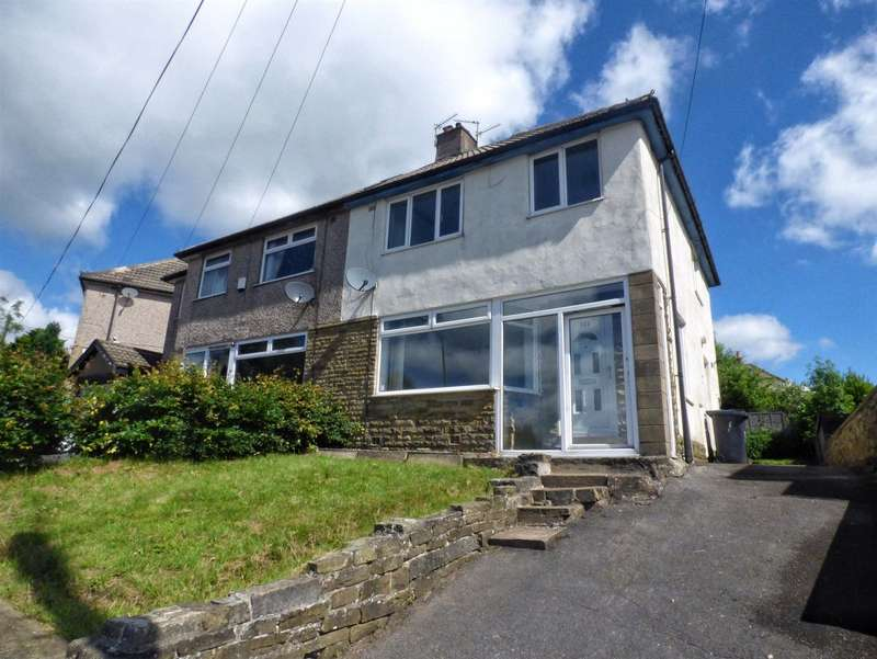 3 Bedrooms Semi Detached House for sale in Roils Head Road, Norton Tower, HALIFAX, West Yorkshire, HX2